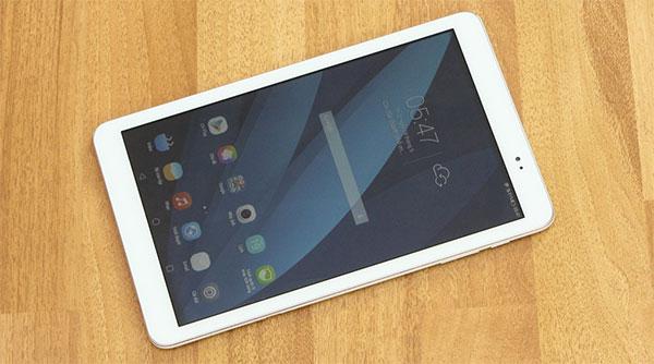 Tablet Huawei Media Tab T1 10 sở hữu thiết kế thanh lịch, đẹp mắt.