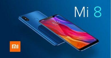 Thiết kế Xiaomi Mi 8 với hai mặt kính hoàn thiện khung kim loại chắc chắn