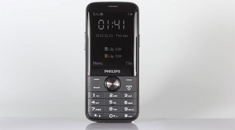 Đánh giá điện thoại Phillips E330 pin 4050mAh