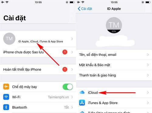 Hướng dẫn cách copy danh bạ từ iPhone sang sim (2)