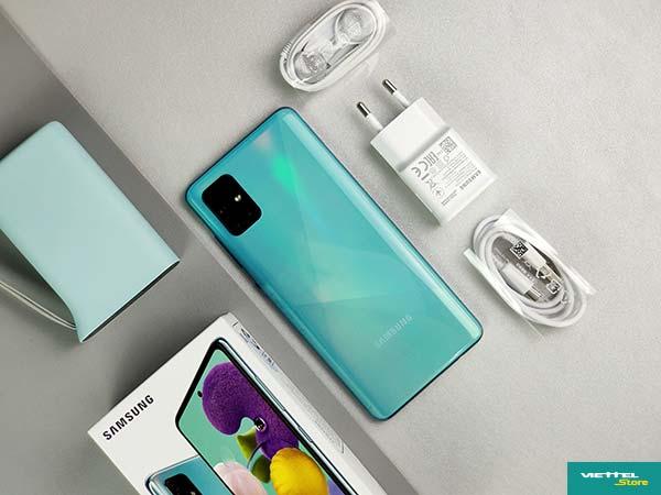 Samsung Galaxy A51 giá 7.990.000 tại Viettel Store