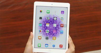 iPad Air 16GB Wifi 3G với màn hình cảm ứng mượt mà