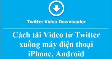 Hướng dẫn cách tải Video trên Twitter về điện thoại (1)