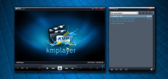 MP3 KMPlayer hỗ trợ phát video, âm thanh chất lượng cao