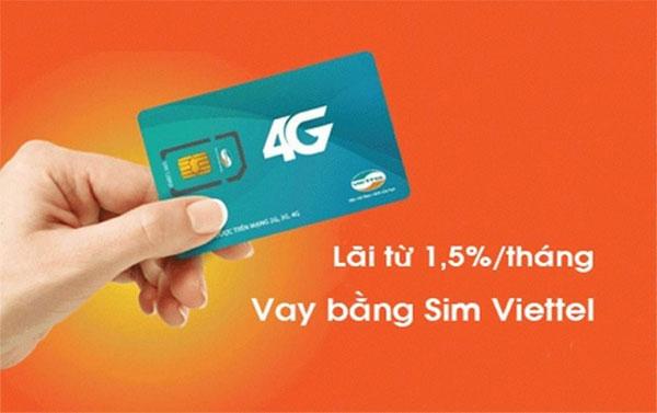 Lãi suất vay tiền qua SIM Viettel tại Home Credit chỉ từ 1.5%/tháng