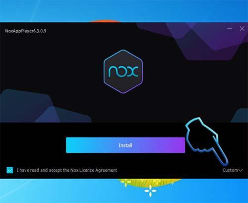 Phần mềm giả lập android Nox Player (3)