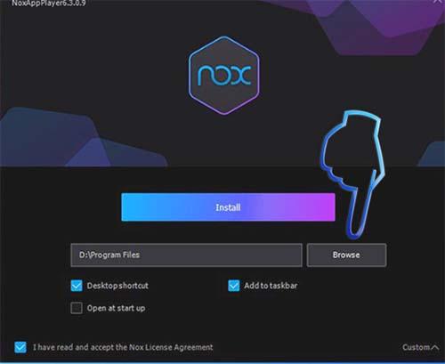 Phần mềm giả lập android Nox Player (4)