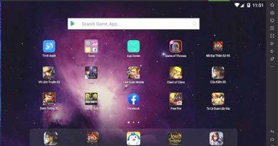 Phần mềm giả lập android Nox Player