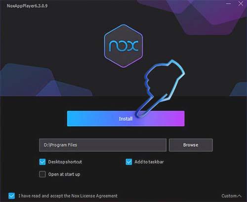Phần mềm giả lập android Nox Player (5)