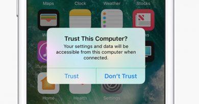 iPhone sẽ gửi yêu cầu xác minh câu hỏi có tin cậy máy tính