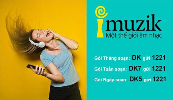 Sử dụng gói cước nhạc chờ I-Muzik do nhà mạng Viettel cung cấp