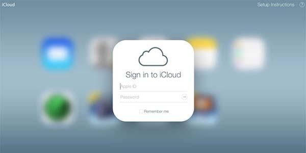 Đăng nhập tài khoản iCloud Apple trên máy tính