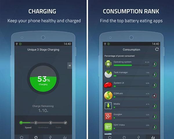 Battery Doctor là ứng dụng giúp tiết kiệm pin khá phổ biến
