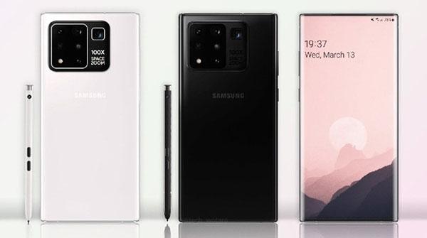Tiếp tục lộ thông tin cấu hình Galaxy Note 20 Ultra kèm giá bán (ảnh render)