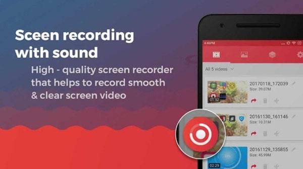 Unlimited Screen Recorder Free sở hữu nhiều tính năng quay hữu ích