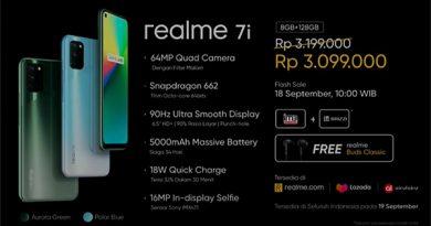 Realme 7i giá bao nhiêu