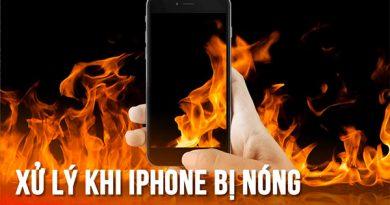 iPhone bị nóng khi sạc