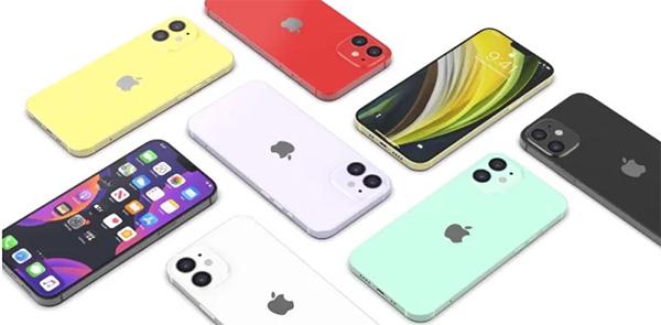 ịPhone 11 có 6 tuỳ chọn màu sắc thì iPhone 12 Mini chỉ có 5