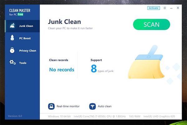Phần mềm Clean Master