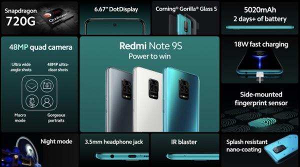 Redmi Note 9, Note 9S