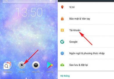 Cách đồng bộ danh bạ từ Gmail sang Android