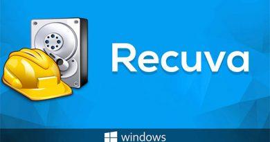 Phần mềm khôi phục dữ liệu ổ cứng Recuva